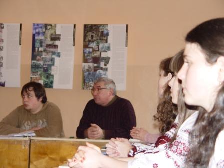 Під час презентації матеріалів про УПА
